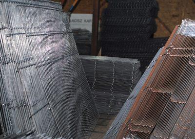 siatki, panele z drutu - arkusze