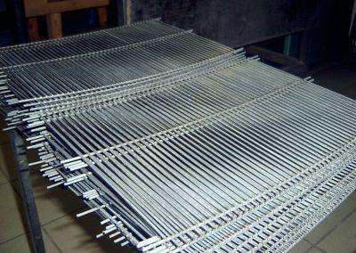 siatka zgrzewana z drutu przed ocynkowaniem