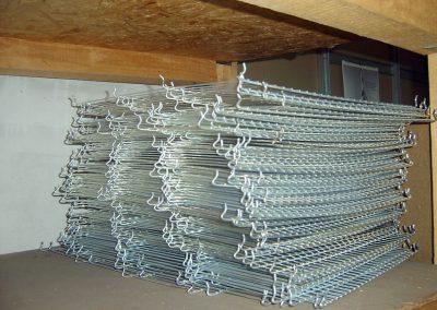 siatki z drutu - elementy klatki dla królika